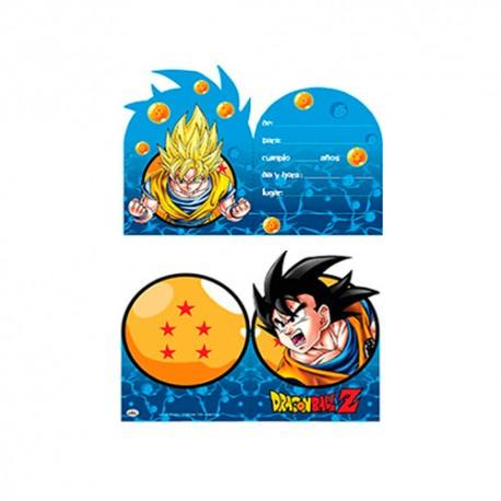 Invitaciones de cumplea os dragon ball encuentralas en for Cuartos decorados de dragon ball z