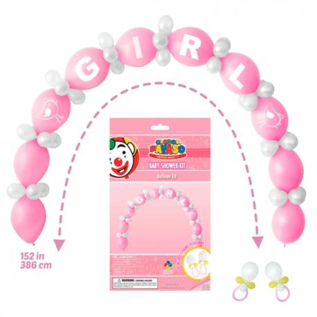 039973864 Kit Baby Shower Niña Armalo Tu Mismo!! Adquierelo en Globos Yuli