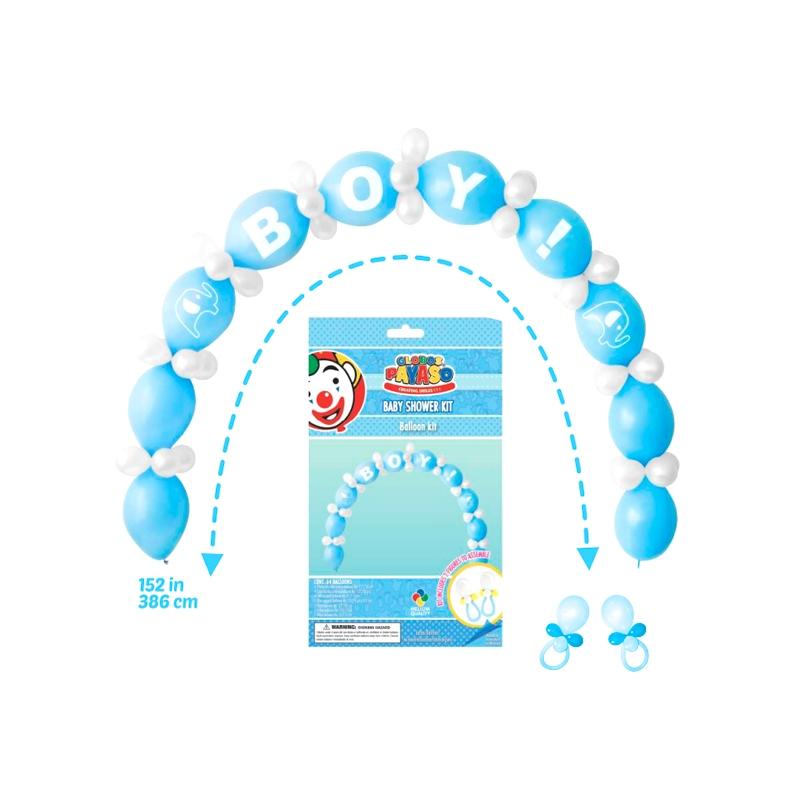 6cf075596 Kit Baby Shower Niño Armalo Tu Mismo!! Adquierelo en Globos Yuli