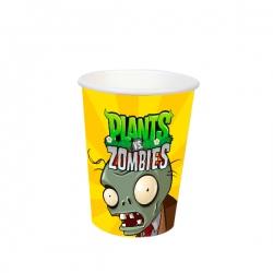 10 Vasos De Plants Vs Zombies